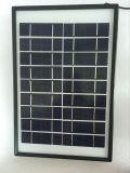 5W 휴대용 태양 에너지 장비 시스템 점화, FM 라디오, 음악, USB 산출, 비용을 부과 자동차