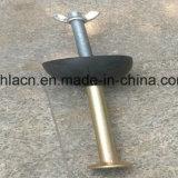 La construcción prefabricados de hormigón el pasador de levantamiento de anclaje de los pies de elevación para la construcción del sistema de anclaje y fijación