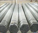 1inch galvanizó el tubo de acero/la INMERSIÓN caliente galón soldados alrededor del tubo de acero