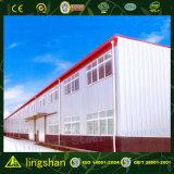 Bajo precio de fábrica prefabricados de estructura de acero corrugado galpones Diseño