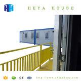 완전히 갖춰진 피난민 수용소 Prefabricated 강철 구조물 콘테이너 집