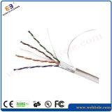 Langes im Freiennetz-Kabel des Leben-Service-CAT6 STP