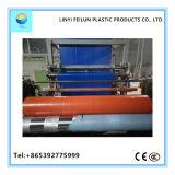 Tela incatramata di plastica impermeabile di plastica blu/arancione del coperchio del tetto