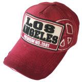 Sombrero caliente del papá del color sólido de la venta con Niza la insignia Gj1753