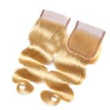 倍によって引かれるヨーロッパのRemyボディ波の人間の毛髪機械Toupee