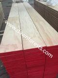 Panneau de contre-plaqué de Lvb de peuplier/pin pour l'usage de construction