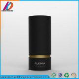 Черная роскошная круглая косметика/упаковывая бумажная коробка оливкового масла