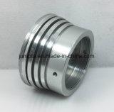 Штампованный алюминий черный анодированный алюминиевый корпус серебристого цвета оборудования, повернув алюминия CNC алюминиевых деталей, светодиодные индикаторы / охладителя радиатора