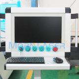 máquina de estaca industrial do laser da fibra de 1kw 2kw para a placa de metal da folha