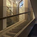 De Leuning van de Balustrade van het Traliewerk van het Glas van het roestvrij staal