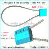 Verrou de câble de haute sécurité à usage unique contenant les joints de balise chaîne (DK-311)