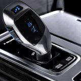 Audio MP3 altoparlante del trasmettitore del giocatore del nuovo 2017 del USB dell'automobile caricatore portatile del kit FM con la scheda di FM Radio+ TF