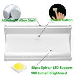屋外の防水マイクロウェーブレーダーの動きセンサーLEDの太陽庭ライト