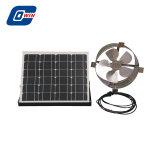 Ventilatore di scarico solare fissato al muro del timpano da 20 watt con il comitato solare registrabile