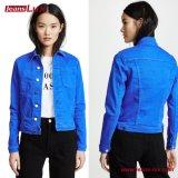 2018 моды синие джинсыцвет джинсовой женщин куртки Jl-CF003