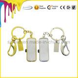 금 색깔 USB 로고 에폭시 코팅을%s 가진 저속한 펜 드라이브 USB