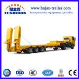Fabricante Jushixin Eixos 3/4 100t Caminhão Baixa semi reboque