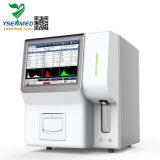 60t/h l'écran tactile de haute qualité 3-part de l'analyseur d'Hématologie entièrement automatique