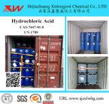 De industriële Specificatie van Hydrochloric Zuur van de Rang Zoutzuur Zure