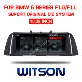 """Grande automobile DVD 1.025 dello schermo di Witson BMW """" per BMW 5 serie F10/F11 (2011-2012) Cic"""