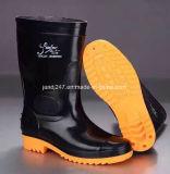 Водонепроницаемый мужчин или женщин работы защитная обувь Safaty дождя ботинки ПВХ дождя ботинки