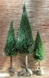 PE&Top-Grade de PVC para la decoración del árbol de navidad artificial