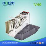 V40 기계를 세는 휴대용 돈 돈 현금