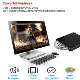 Speler van de Aandrijving DVD van USB C de Externe voor Mac/PC/Laptop