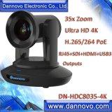 IP Poe van het Gezoem van Dannovo 4K 12megapixel 35X Videocamera voor het VideoConfereren, Uitzenden en Toezicht, Camera UHD PTZ