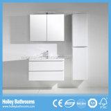Articles sanitaires de salle de bains à haute brillance de peinture avec la lampe de DEL et le Module de côté (BF380D)
