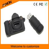 A movimentação do flash do USB da câmera para personaliza
