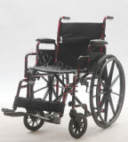 Manual de acero, de suelta rápida, sillón de ruedas, plegamiento, (YJ-023)