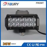 De automobiele van de LEIDENE van de Verlichting Offroad SUV 36W CREE Lichte Staaf Lamp van het Werk