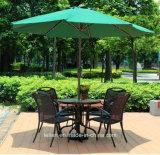 Muebles de exterior de mesas y sillas de ratán (LL-RST006)