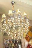 Illuminazione di cristallo d'attaccatura del lampadario a bracci dell'ingresso dell'hotel (ka241)