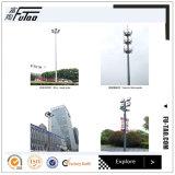 20m 25m Dreieck-Lampen-Kronen-hoher Mast mit 400W LED