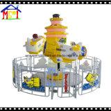 Новый детский парк развлечений Peafowl плавностью хода оборудования