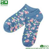 Флористические оптовые изготовленный на заказ носки лодыжки хлопка