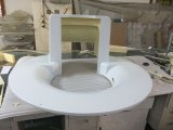 CNC que faz à máquina o painel frontal plástico para o equipamento médico