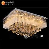 Heißer Verkaufs-moderne Kristalldecken-Lampen für Hotel/Innendekoration Om88555