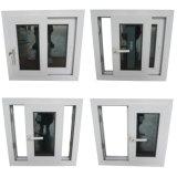 PVC에 의하여 이중 유리로 끼워지는 회색 색을 칠한 슬라이더 Windows