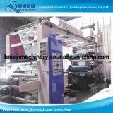 Sechs Farben-Serien-flexible Drucken-Maschine für Walzen-Material