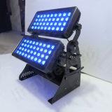 72PCS 10W 4in1 DMX LED helle Wand-Unterlegscheibe