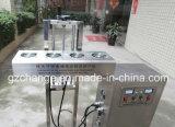 Автоматическая индукция разливает опарникы по бутылкам герметизируя машину