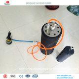 Ballon de pipe utilisé dans la maintenance de canalisation d'égout