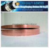銅カラーアルミホイルはペットテープ(Alペット)フィルムAl/Mylarテープを薄板にした