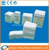 Não esterilizadas Medical gaze de algodão aprovado pela CE/SGS/ISO13485