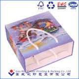 製造業の専門のカスタムクリスマスの紙袋またはショッピング・バッグかギフト袋