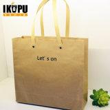 Sacs à main en papier personnalisé avec poignée pour l'emballage alimentaire Shopping