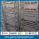 Diviseur de pièce se pliant d'écran en métal de l'acier inoxydable 304